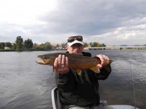 Missouri River Trout FIshing Guides Montana